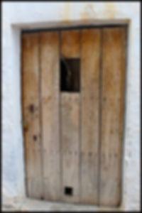 ancient door Lentegi Spain