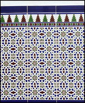 Arabic style tiles Lentegi