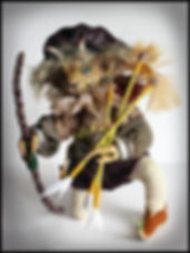 craft holidays Spain | fantasy animal doll sculpture