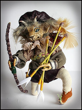 craft holidays Spain | fantasy animal doll sculpture