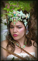 fairy queen crown by Kelly Potts Martinez