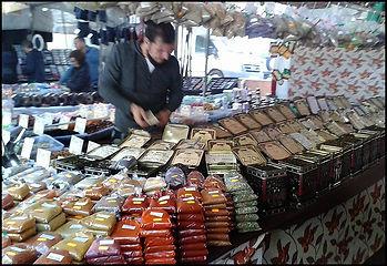 Spice stall Almunecar market