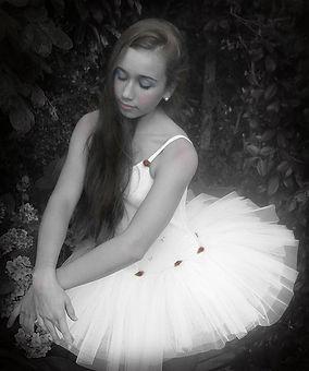 ballerina vintage style