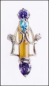 organic contemporary pendant by Jose Martinez
