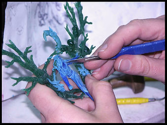 Wax sculpting course   lost wax cast jewellery making course   art painting holiday retreat Spain