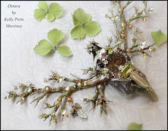 silver goddess sculpture  | goddess of spring sculpture | kelly potts martinez