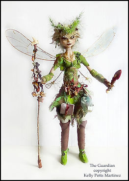 faery sculpture | character doll | doll making holiday