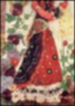 raised applique textile art   art holidays Spain