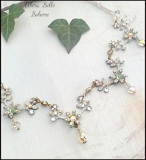 snow queen wedding  jewellery | vintage romantic bridal jewellery