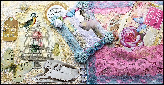 Junk Journal Spain | How to make a Scrapbook journal | Craft holidays