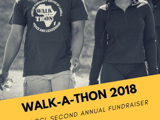 Second Annual Walk-a-Thon this Saturday!