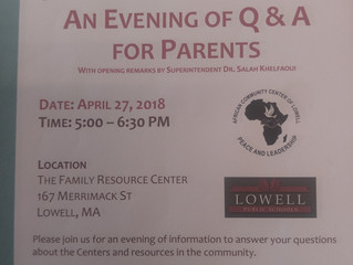 Question and Answer Session on April 27!