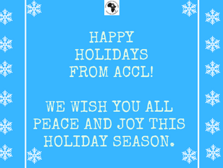 Happy Holidays from the ACCL!