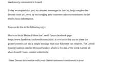 Lowell for Census 2020