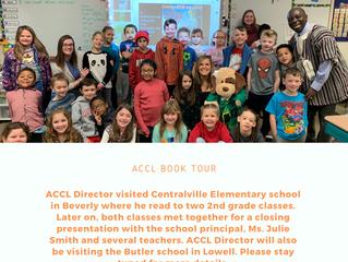 Book Tour: Centralville Elementary school
