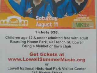 Lowell Summer Music Series Featuring Ladysmith Black Mambazo
