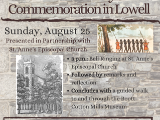 Community Commemoration in Lowell