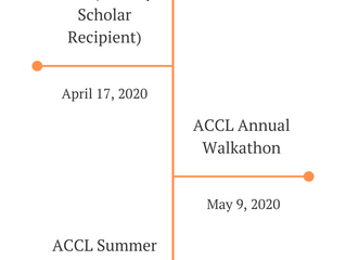 ACCL UPCOMING EVENTS