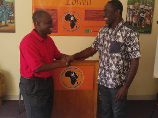 Professor from Ghana visits Lowell