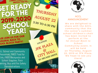 1st Annual Back to School Community Event