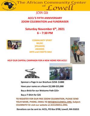 ACCL's 5th Anniversary Celebration!