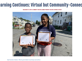 Learning Continues: Virtual but Community-Connected