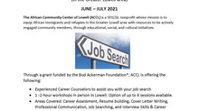 Free and in person Career Services in Summer 2021