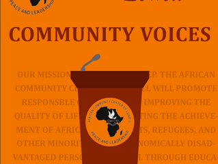 Community Voices Reflection from Noy
