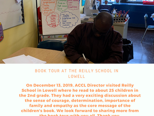 Book Tour: Reilly School in Lowell