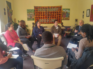 Judge Jay Blitzman Visits The African Community Center of Lowell