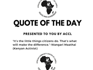 ACCL Quote of the Day!