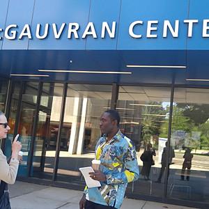 Yaw Sekyi-Baidoo of Ghana visits Lowell