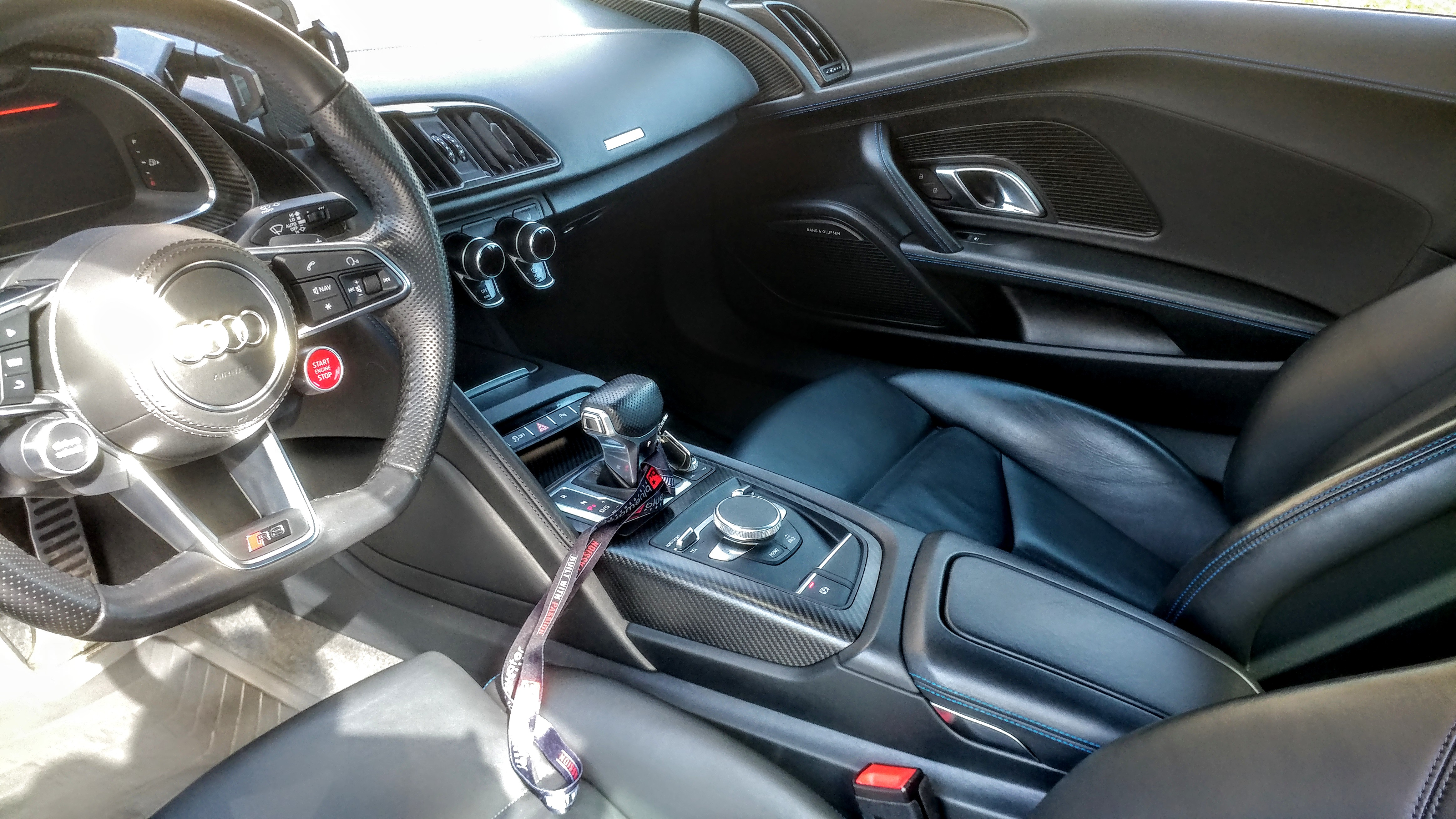 Audi R8 Interior Detail