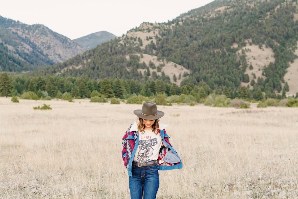 Montana Rocky Mountain Senior Session