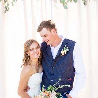 Montana Bride and Groom