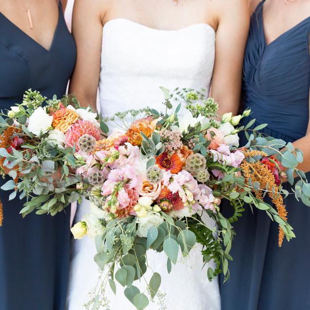 Vibrant Summer Wedding Florals