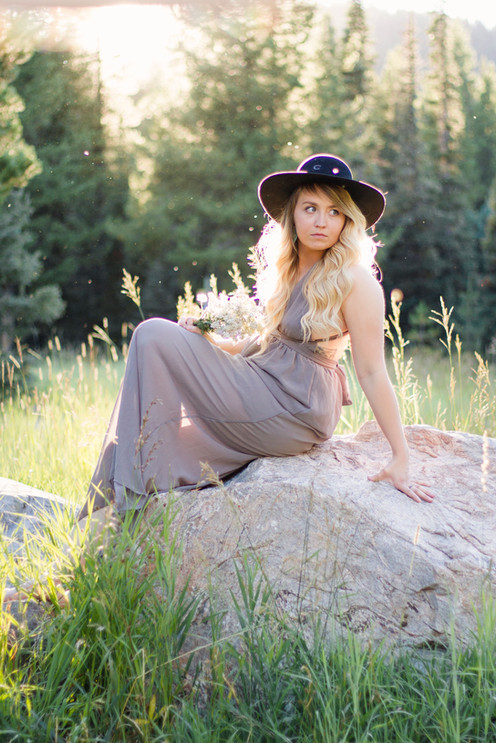 Rocky Mountain Forest Senior Session