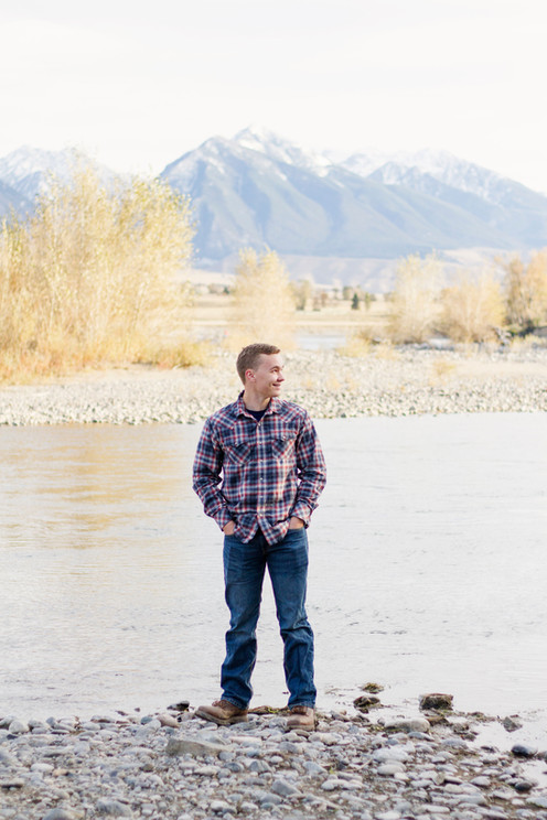 Yellowstone River Senior Session