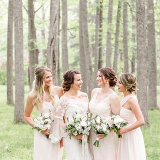 Virginia Wedding in the Woods