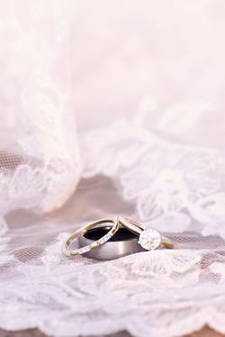 Elegant Silver Wedding Rings