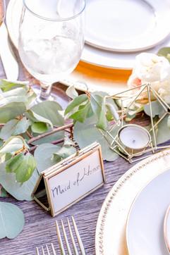 Blush Wedding Tablescape Details
