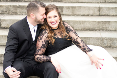 Elegant Downtown Engagement Session