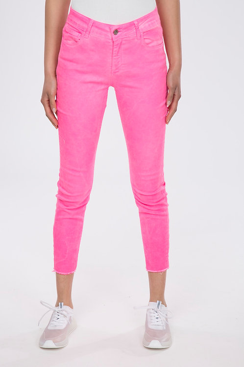 JEANS SLIM FIT FUXIA FLUO
