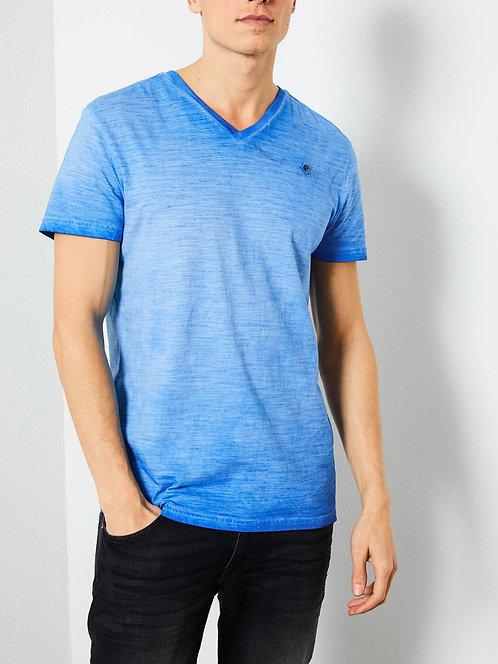 T-shirt con scollo a V marl