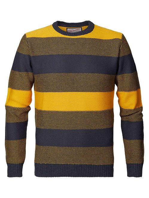 Pullover color block