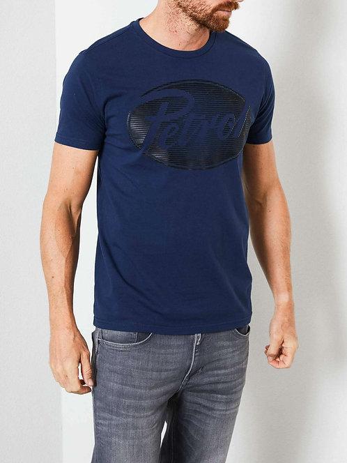 T-shirt con logo vintage