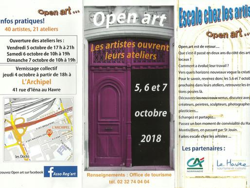 Open art ( ouverture des ateliers d'artistes )