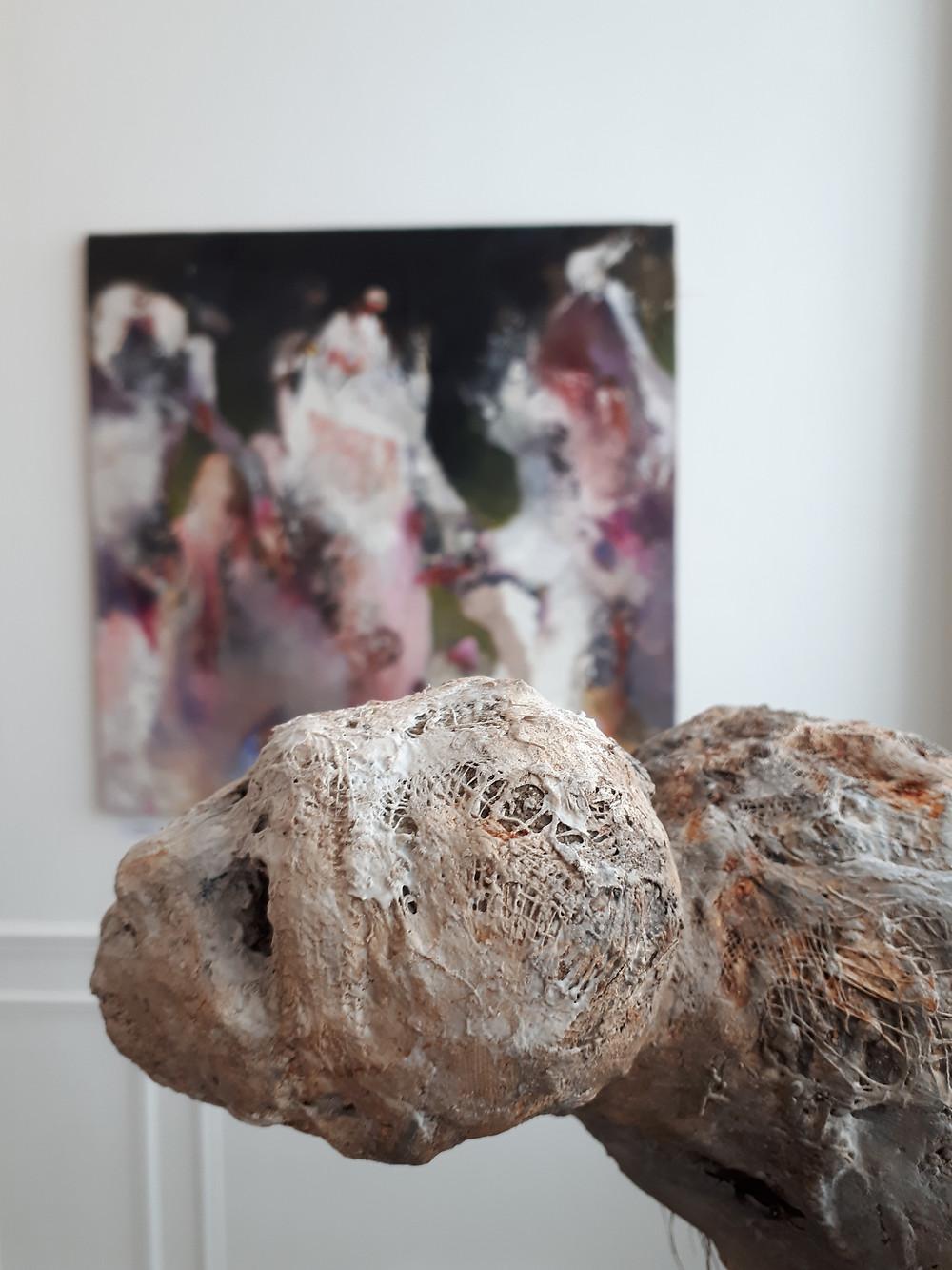 Sculpture de Sylvie Cliche