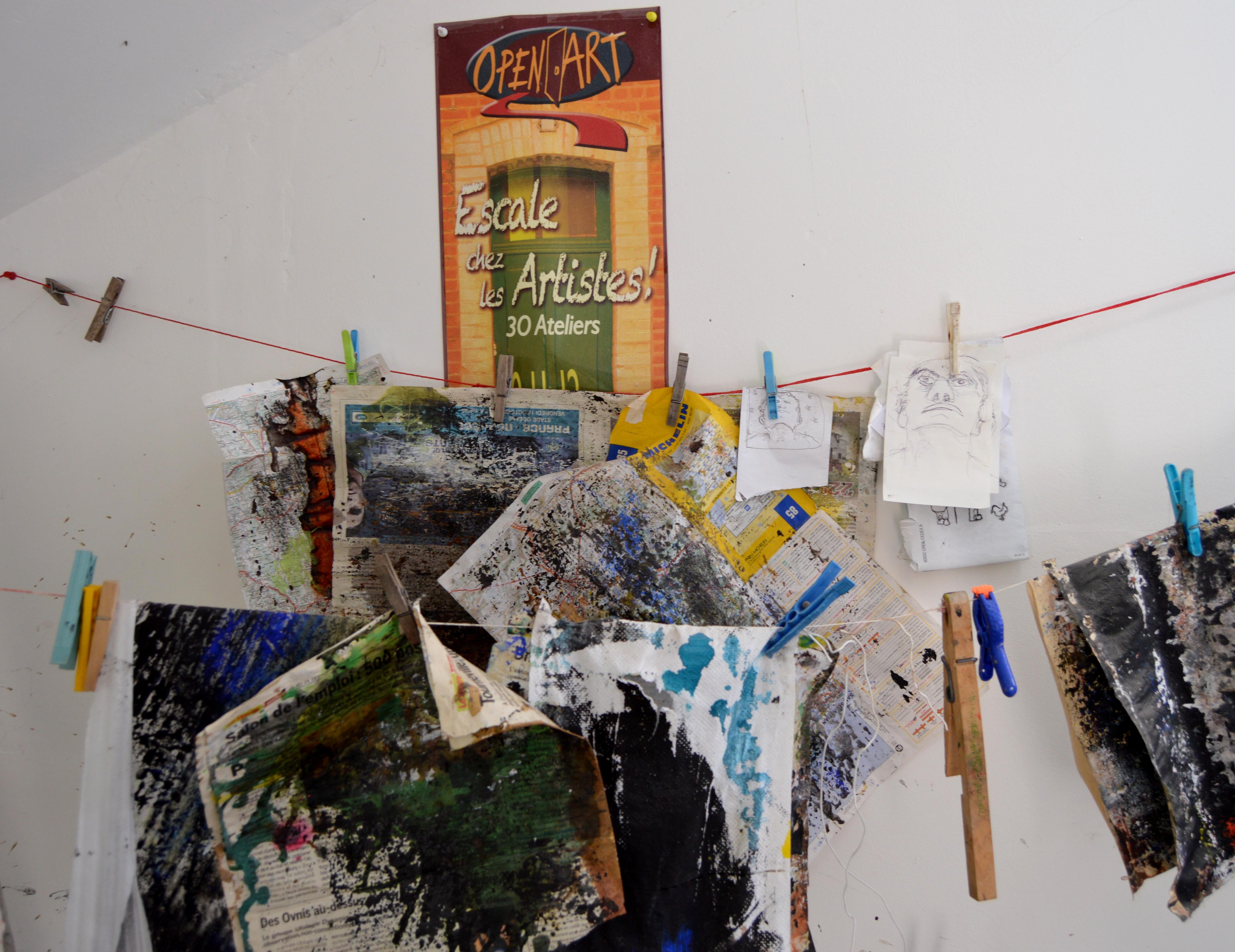 Escale chez les artistes