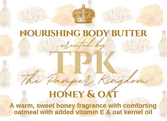 Honey and Oat Nourishing Body Butter